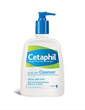 """Elle Canada names Cetaphil Gentle Skin Cleanser in its list of skin cleansing """"Cult Faves."""""""
