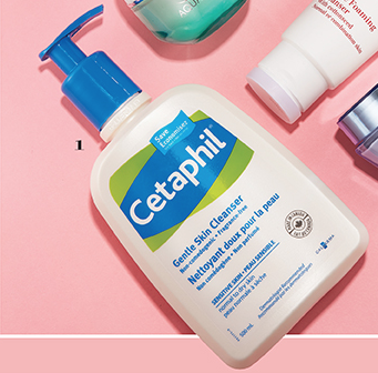 """Cetaphil Gentle Skin Cleanser has been named the winner of Cosmetics Magazine's 2016 """"I Recommend"""" Beauty Awards in the category of Best Cleanser (Mass)"""